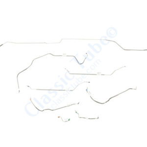 Buick GS  Brake Line Kit  Convertible - Power Drum -1968,1969