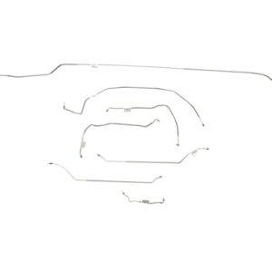 Chevrolet Chevelle Brake Line Kit  Convertible - Power Drum -1970,1971,1972