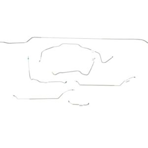 Chevrolet Chevelle Brake Line Kit  Convertible - Power Disc -1971,1972