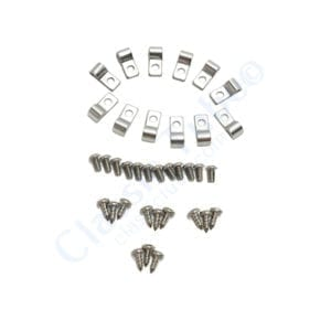 Line Clamps  - 3/16 in - 12 per Pack