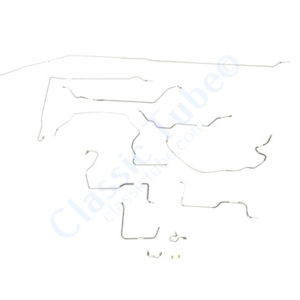 Chevy / GMC Pick Up Brake Line Kit  2WD Long Bed - Power Disc -1976,1977,1978,1979,1980
