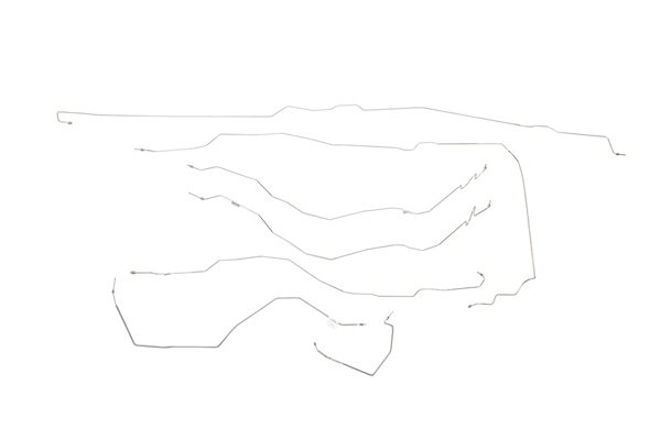 Chevy / GMC Pick Up Brake Line Kit  4WD Extended Cab Long Bed with Quardrasteer - 2001,2002