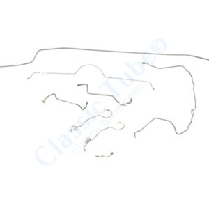Chevrolet Corvette Brake Line Kit  Manual Disc -1970,1971,1972,1973