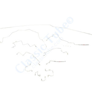 Dodge  Pick Up Brake Line Kit  4WD Quadcab Long Bed 4 Wheel ABS - With Rear Height Sensing Valve (2 Pc. Front to Rear) Rear Disc Brakes -2000,2001