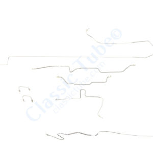 Jeep Wrangler TJ Brake Line Kit  Non ABS -1997,1998,1999,2000,2001,2002,2003,2004,2005,2006