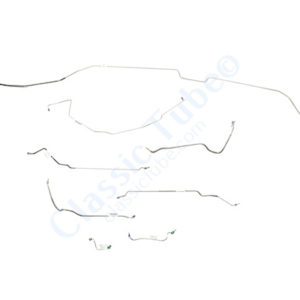 Buick GS  Brake Line Kit  Convertible - Power Disc -1968,1969